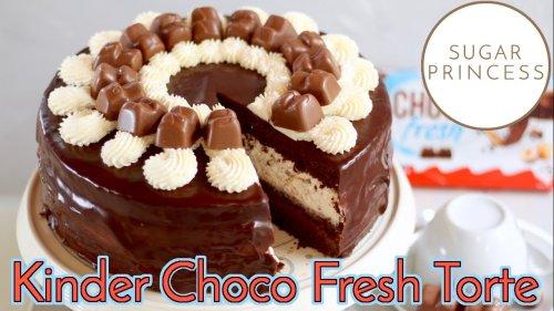 Du wirst sie lieben! 💝 Kinder Choco Fresh Torte: Absolute Traumtorte! 🤩   Rezept von Sugarprincess