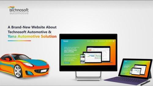 Announcing a Brand-New Technosoft Automotive Website Based on Your Automotive Business Needs | Yana Automotive Solution | Dealer Management System (DMS) | Technosoft Automotive - cover