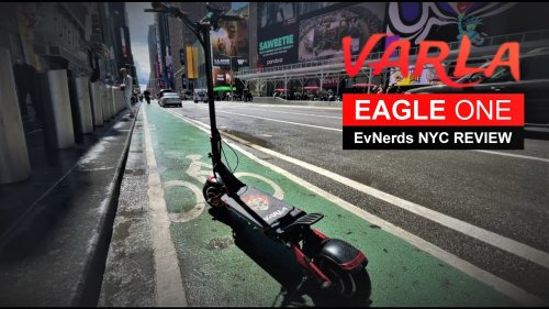Varla Eagle ONE - Electric Scooter Review in New York by M.Borrero