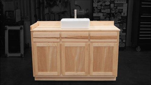 Building a Maple Bathroom Vanity