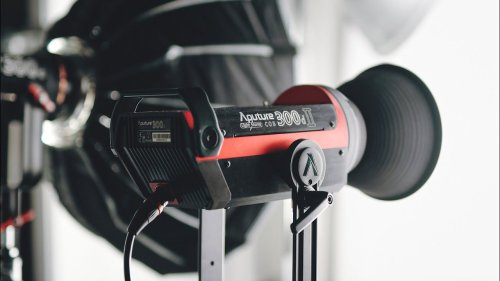 Aputure 300d II - The LED Light I Use for Everything