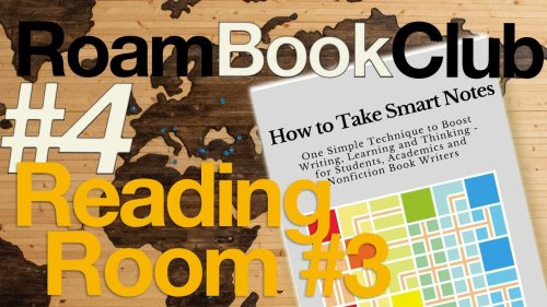ROAM BOOK CLUB #4 | Europe Roam Research Reading Room #3