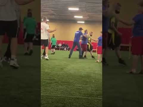"""Michigan Flag Football Coach Sucker Punches Dad On The Sideline For """"Looking At Him"""" Wrong"""