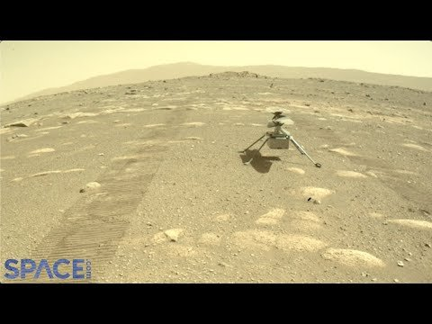Perseverance drops Ingenuity helicopter on Mars! First Pics