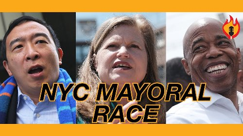 Ross Barkan: Eric Adams WEAPONIZES Race To Attack Yang, Cover Corporate Politics