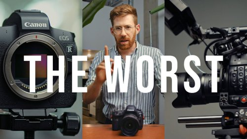 The WORST Things About my FAVORITE Cameras: Canon R, 5D mKIV, C200 & Sony a7 III