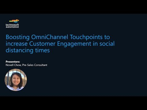 Boosting Omnichannel Touchpoints to Increase Customer Engagement in Social Distancing Times