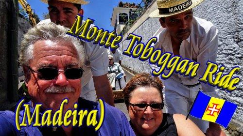 🛷 Monte Toboggan Ride in Funchal, Madeira