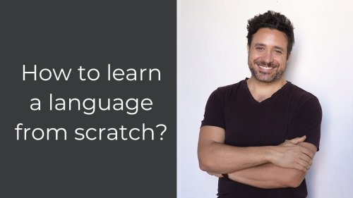 How to Learn a Language From Scratch #Shorts
