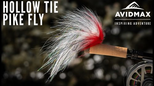 How to tie the Hollow Tie Pike Fly | AvidMax Fly Tying Tuesday Tutorials