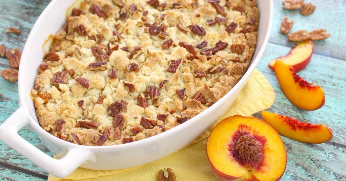 Cake Mix Peach Cobbler Recipe