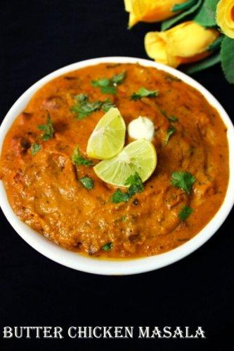 butter chicken masala recipe, chicken butter masala-Yummy Indian Kitchen