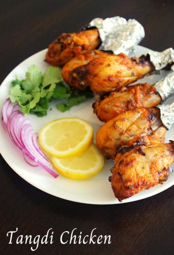 chicken tangdi kabab, tandoori tangri kebab - Yummy Indian Kitchen