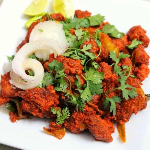 Chicken 65 Recipe Hyderabadi Gravy and Dry Restaurant Style
