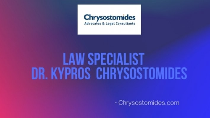 Law Specialist Dr. Kypros Chrysostomides - cover