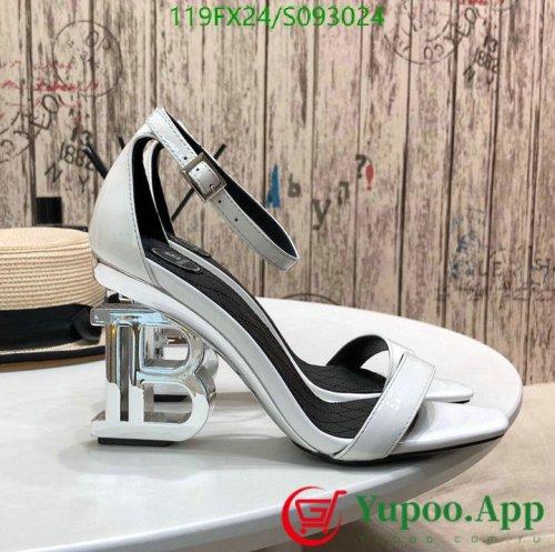Balmain High-heeled sandals fish head shoes Women's shoes - Yupoo.com.ru