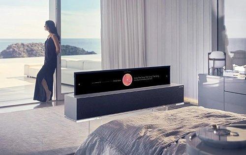 I TV roll-up LG sono disponibili per il preordine