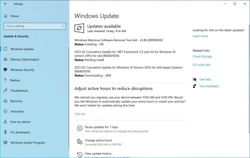 Windows 10 update KB5003637 for version 21H1, 20H2 and 2004 (What's new) - ZcomTech