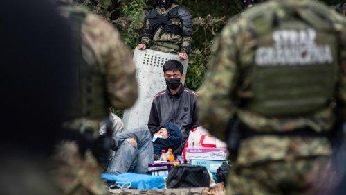 """Belarus und die Flüchtlinge: """"Kein Wasser, nichts zu essen"""""""