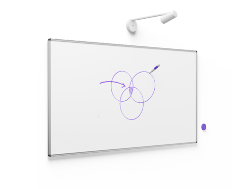 Logitech intros AI-powered whiteboard camera Scribe | ZDNet