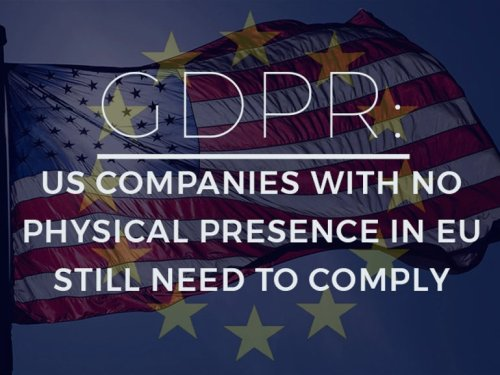 GDPR: US companies with no physical presence in EU still need to comply - Video | ZDNet