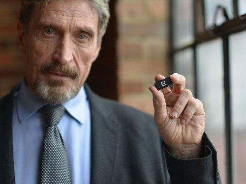 Antivirus pioneer John McAfee reportedly found dead in prison   ZDNet