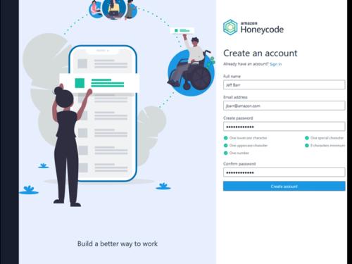 AWS launches Amazon Honeycode, a no-code app building service | ZDNet