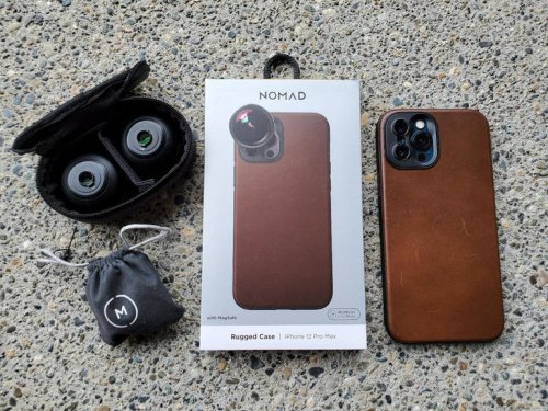 Nomad Rugged Leather Moment case: MagSafe, 10-foot protection, and advanced lens support | ZDNet