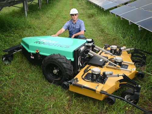 Lidar-powered lawn care solves big problem for utilities | ZDNet