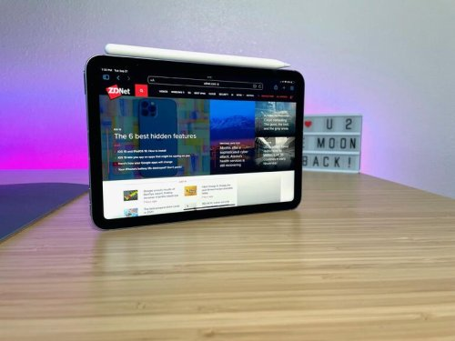 Apple iPad Mini (6th Gen.) review: Unmatched portability and power Review | ZDNet
