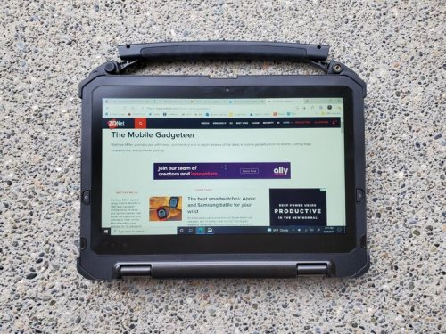 DT Research LT330 review: Rugged convertible laptop optimized for field workers Review | ZDNet