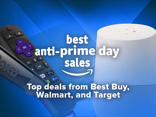 Best anti-Prime Day deals: Walmart and Best Buy sales   ZDNet