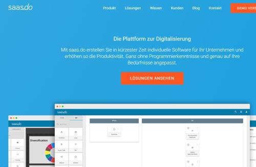 No-Code, die verblüffend einfache Digitalisierungs-Software