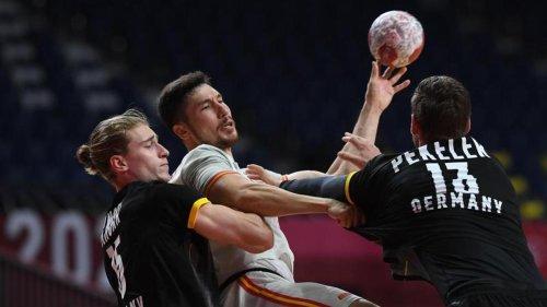 Olympische Spiele: Frust und Enttäuschung: Handballer verlieren Auftakt
