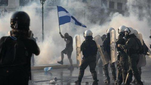 Griechenland: Mitsotakis: Impfpflicht ist nicht verfassungswidrig