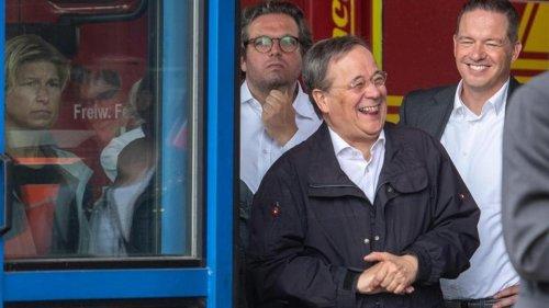 """Parteien: Detzer bezeichnet den """"lachenden Laschet"""" als Fehlbesetzung"""