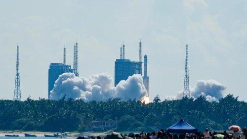 Raumfahrt: China schickt weiteren Versorgungsflug zur neuen Raumstation
