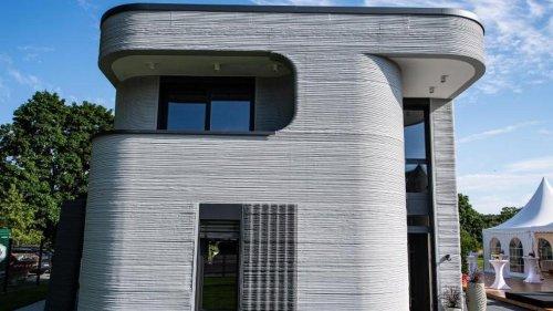 Wohnungsbau: Erstes Wohnhaus aus dem 3D-Drucker in Westfalen eröffnet