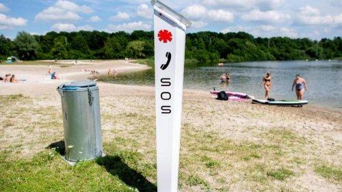 Notfälle: Notrufsäulen am Wasser sollen Hilfe auf Knopfdruck bieten