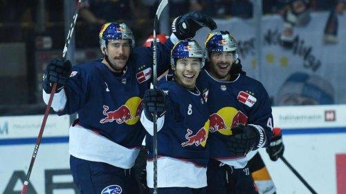 Eishockey: EHC Red Bull München in Champions League in der Schweiz