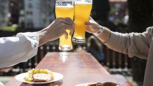 Biergarten-Öffnung in 13 Kreisen und Städten genehmigt