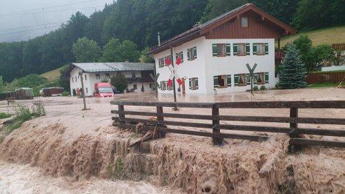 Hochwasser: Überschwemmungen auch in Oberbayern und Sachsen