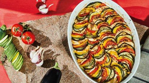 Provenzalisches Gratin: Gutaussehendes Gemüse
