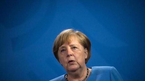 Merkel trifft beim Abschiedsbesuch in Washington auf Harris