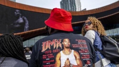 Gedenken: Trauerfeier für Rapper DMX in New York