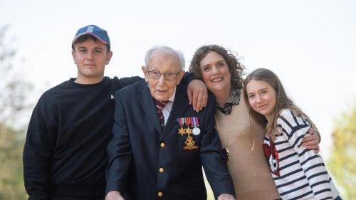 Familie von Captain Tom ruft zu Spendenaktionen auf