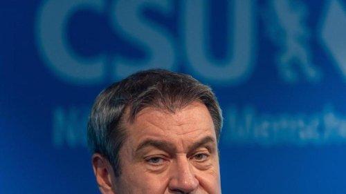 Bundestag: Söder will Unionspleite analysieren: Hoffen auf Jamaika