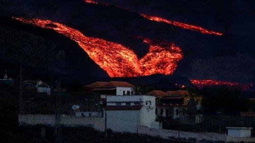La Palma: Lava fließt stärker als je zu vor den Cumbre Vieja hinab