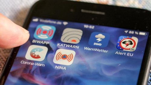 Notfälle: Warn-Apps in Berlin: Noch weit entfernt von breiter Nutzung