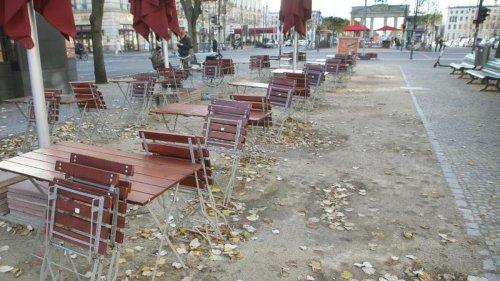 Erster Tag des Lockdowns in Brandenburg